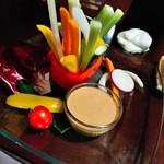 満腹厨房だぶる - カラフル野菜ステック
