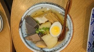 大坂おでん 久 グランフロント大阪店 - 季節おでん入り おまかせ5種盛り