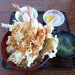 あさり浜 - おすすめのエビ天丼