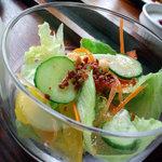 マイゲベック - セットのサラダ