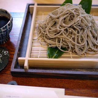 時香忘 - 料理写真:粗挽きおやまぼくちもり蕎麦~☆