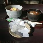 走井餅老舗 - 栗赤飯(走井餅付き)