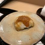 鮨 田なべ - 白身の味噌焼