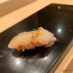 鮨 田なべ - 鯛