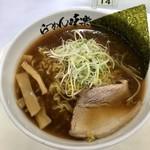 味楽 - 焼き醤油らーめん 大丸京都店で開催された夏の大北海道市にて。