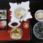 大本山 高尾山 薬王院 - 料理写真:もみじ膳 2800円