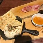グッドスプーン - 生ハム、焼きカマンベールチーズ