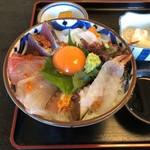 レストラン よし川 - 海鮮丼アップ