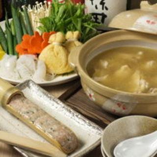 【【要事前予約】】逢鳥特製『水炊き鍋』