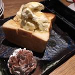 高崎カメレオン - 高級食パンのハニートースト