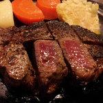 和風ステーキ 華 - 料理写真:牛ヒレステーキ(国産)、ミディアムで!