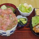 竹家食堂 - 料理写真:竹家食堂 一押しメニュー!「ねぎとろ番長」980円 直球勝負で作り続けてます