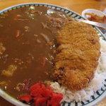 モンブラン - カツカレー1200円