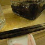 よってけふうちゃん - 箸が真っ黒…