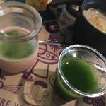 orq. - 鶏ささみとひよこ豆の野菜カレーとスムージー