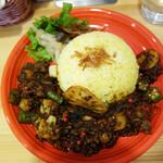 フォレスト スパイス - 糸島野菜のラムキーマ1,050円。