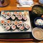 魚がし - 料理写真:細巻き3本(ランチ)