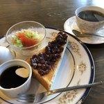 95395606 - オリジナルコーヒー450円と小倉トーストのモーニング