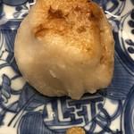 柚木元 - 松茸の入ったおやき