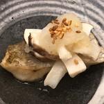 柚木元 - のど黒と松茸