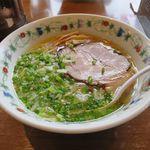 麺家 風 - 料理写真:塩ラーメン(750円)