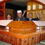 こうげん寿し - 家族3人田舎寿司屋です