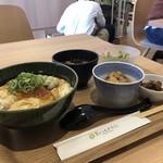 食のつむぎカフェ UMENOHANA エビスタ西宮店 - とろとろ湯葉丼定食