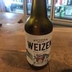 山新 - ビールは地元のバイツェンです。