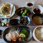 鈴章 - 料理写真:【2018/10】なまずミニコースA