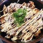 定食屋 めしどき - 鶏マヨ丼