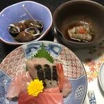 鮨よし - 料理写真:お刺身盛り合わせ