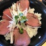 暖家 - ミニロースト牛タン丼