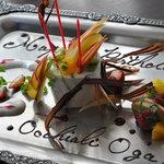 オッキャーリ オガ - 料理写真:取材で作ったケーキ