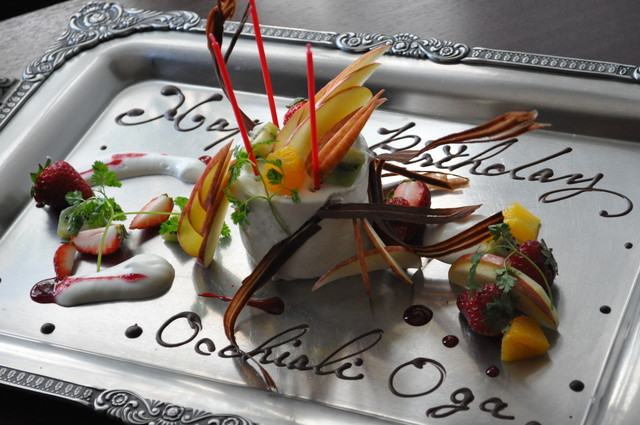 オッキャーリ オガ - 取材で作ったケーキ