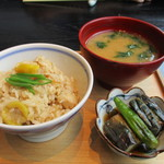 95410593 - 季節の炊き込みご飯セット