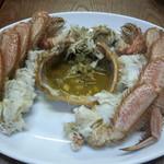 やまかん    - 料理写真:茹で毛ガニ