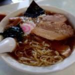 かすみ食堂 - びとんチャーシューメン(大盛り)(1000円)ちょっと食べたあとです。