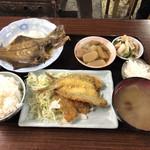 お食事処 みず - 本日のサービス定食+単品   ¥850