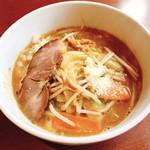 麺や豊 - ベジ味噌ラーメン