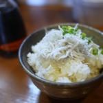麺処 びぎ屋 - 静岡県駿河湾直送しらすご飯