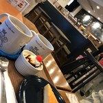 Ants' coffee company - ケーキコーヒーセット¥860(税込) ホットコーヒー¥350(税込)