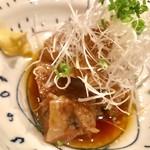 夕まずめ - 豚の角煮¥780