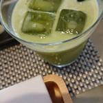 うなぎパイカフェ - 静岡茶ラテ
