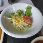 サンパール - 朝食のサラダ