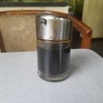 サンパール - なかなかレトロな雰囲気のあるソース