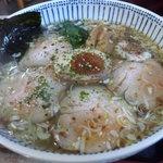 奥久慈ラーメン なかざわ - 塩チャーシュー麺