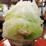 純喫茶マウンテン - かき氷(抹茶、白玉など)
