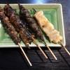 うな太郎 - 料理写真:きも・かぶと・ひれ・塩焼