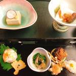 TJK箱根の森 - 料理写真:先付、前菜、酢物