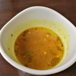 95425479 - ビリヤニセットのスープ